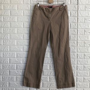 J crew stretch city fit khaki pants